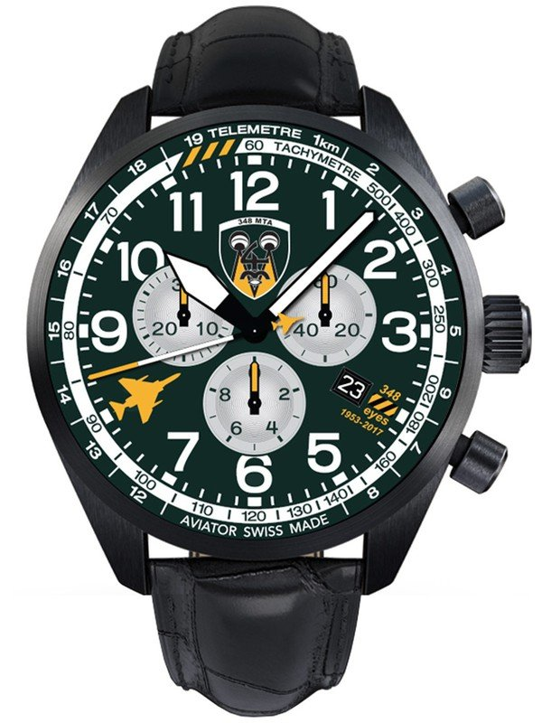 Airacobra  Chrono For HAF 348 SQ. Lim.Edition