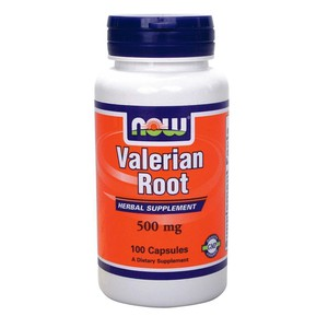 Now valerian root 500 mg   100 capsules