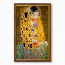 Klimt   kiss  full  356 134  40x65