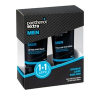 PANTHENOL EXTRA MEN FACE&EYE CREAM 75ML (PROMO+AFTER SHAVE BALM 75ML)