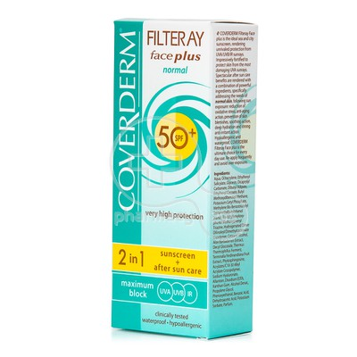 COVERDERM - FILTERAY Face Plus Normal SPF50+ - 50ml