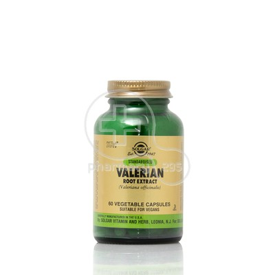 SOLGAR - Valerian Root Extract - 60caps