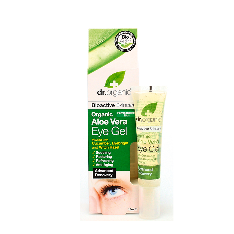 Organic Aloe Vera Eye Gel 15ml