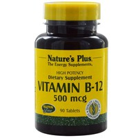 NATURE`S PLUS VITAMIN B-12 500 MCG TABLETS 90