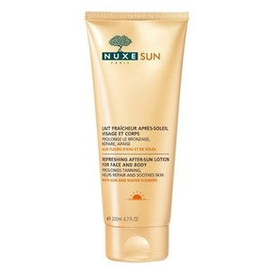 Nuxe sun refreshing after   sun lotion for face and body