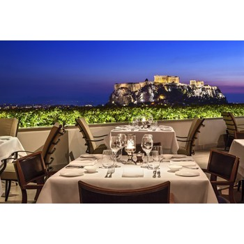 GIFT VOUCHER: 1 DINNER FOR 2 AT THE GB ROOF GARDEN RESTAURANT