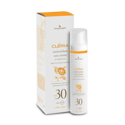 CLERIA - Antioxidant Sun Cream SPF30 - 50ml