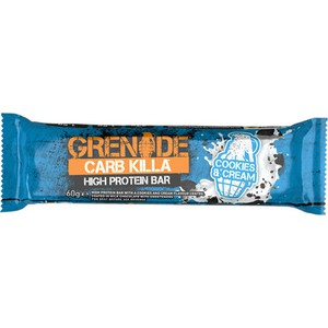 Grenade carb killa 23g high protein bar 60gr cookies   cream