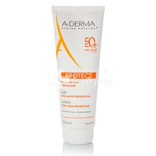 A-Derma Protect Lait SPF50 - Υψηλή αντηλιακή προστασία, 250ml