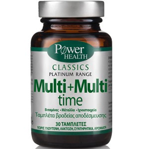 POWER HEALTH Classics platimun range multi+multi time 30tabs