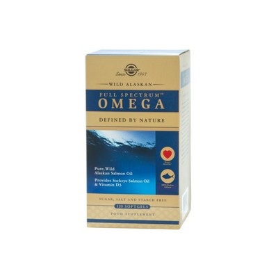 Solgar - Wild Alaskan Full Spectrum Omega - 120softgels