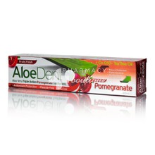 Optima Aloe Dent Pomegranate Toothpaste, 100ml