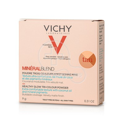 VICHY - MINERALBLEND Healthy Glow Tri-Color Powder Tan - 9gr