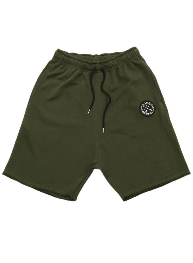 VINYL ART CLOTHING KHAKI SHORTS