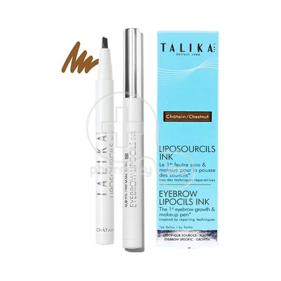 TALIKA - LIPOSOURCILS INK Chatain - 0,8ml