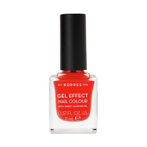 KORRES Gel effect nail colour N45 coral 11ml