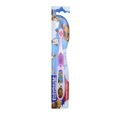 Elgydium - Kids Toothbrush Ice Age 2-6 Ετών Ροζ - 1τμχ