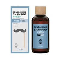 VICAN WISE MEN BEARD&HAIR SHAMPOO FRESH 200ML