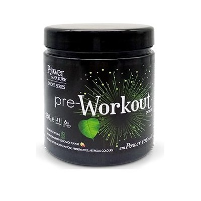 Power Health - Sport Series Pre-Workout Strawberry-Lemonade - 250gr