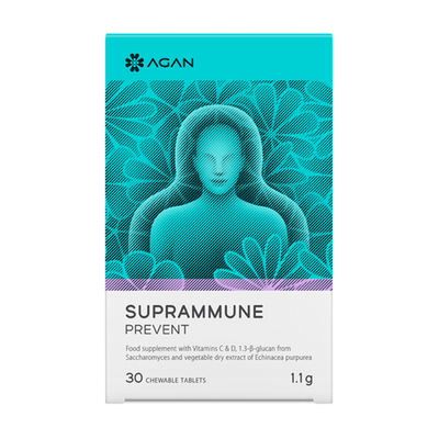 Agan - Suprammune Prevent - 30 chewable tablets