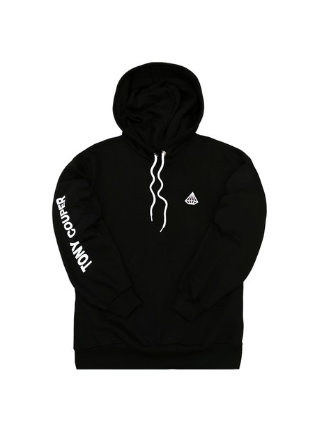 TONY COUPER BLACK TONY SLEEVE HOODIE