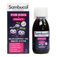 Sambucol Black Elderberry Vitamin C For Kids 120Ml