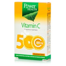 Power Health Vitamin C 500mg, 36caps