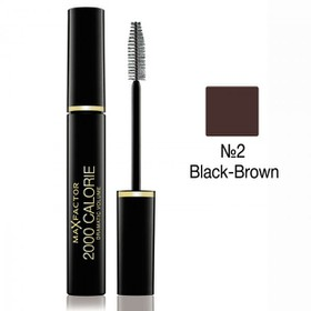 MAX FACTOR MASCARA 2000 CALORIE 02 BLACK/BROWN