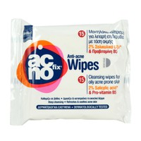 ACNOFIX CLEANSING WIPES 15ΤΕΜ