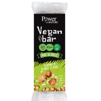 f6073f301f POWER OF NATURE VEGAN BAR (ALMOND PEANUT) 45GR