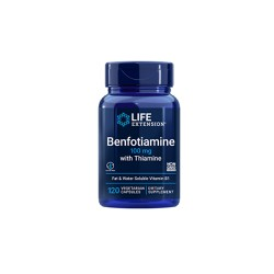 Life Extension Benfotiamine With Thiamine 100mg 120 φυτικές κάψουλες