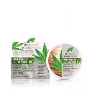 Dr organic hemp oil conditioning hair mask