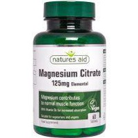 NATURES AID MAGNESIUM CITRATE & B 6 60 TABS
