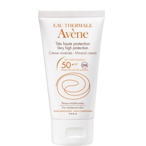 Mineral cream   very high protection cream for intolerant skin spf50   50ml