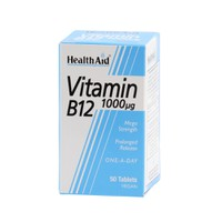 HEALTH AID VITAMIN B12 1000MG 50TABL