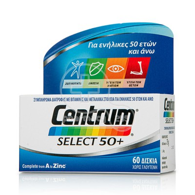 CENTRUM - SELECT 50+ - 60tabs