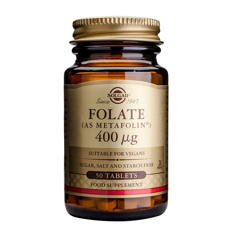 Folate 400μg tablets