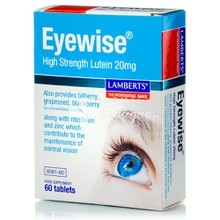 Lamberts EYEWISE High Strength Lutein 20mg - Μάτια, 60tabs