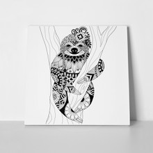 Sloth zentangle 368490059 a