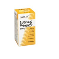 HEALTH AID EVENING PRIMROSE OIL 1000MG & VIT.E 30CAPS
