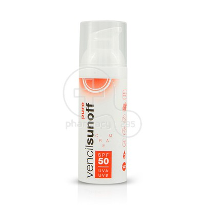 VENCIL - SUNOFF Pure SPF50 - 50ml