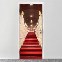Red stairway