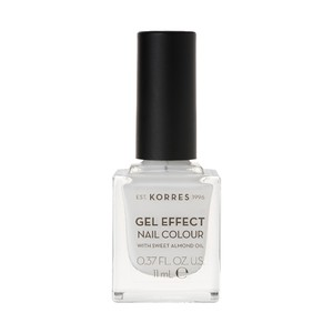 KORRES Gel effect nail colour N01 blanc white 11ml