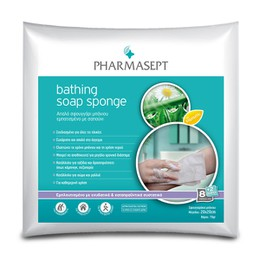 PHARMASEPT Bathing Soap Sponge - 8 Τεμ. + 2 Δώρο