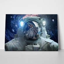 Astronaut in outer space 433576627 a