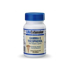 Life Extension Gamma e Tocopherol 60soft