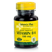 Natures Plus VITAMIN B-6 - Πυριδοξίνη 100mg, 90tabs