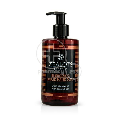 ZEALOTS OF NATURE - ENERGISING Liquid Hand Soap - 250ml
