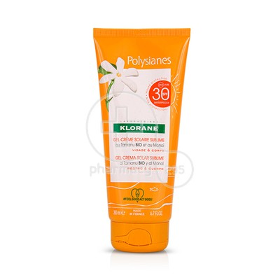 KLORANE - POLYSIANES Gel Creme Solaire Sublime SPF30 - 200ml