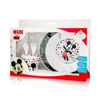 NUK - DINSEY BABY Mickey Mouse Εκπαιδευτικό Σετ Φαγητού 9m+